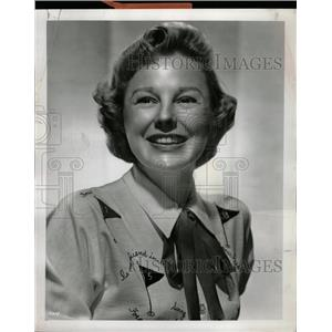 1954 Press Photo June Allyson Actress MGM Contract Star - RRW09181