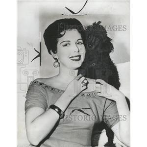 1955 Press Photo Ann Miller American Actress Dancer - RRW33007