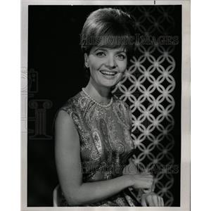 1967 Press Photo Florence Henderson Actress - RRW18637
