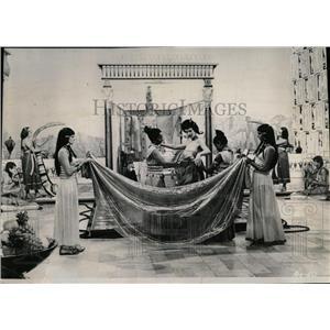 "1954 Press Photo Scene From The Opera ""Aida"" - RRW55785"