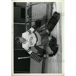 1973 Press Photo Denver University Keith Hall Ice Hocke - RRW74473