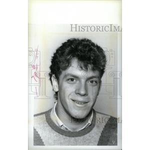 1985 Press Photo Dan Lambert Cranbrook Hockey Team - RRX40339