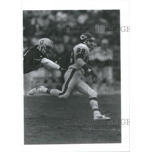 Press Photo Kansas City Chiefs, J.J. Birden - RSC28335