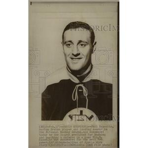 1969 Press Photo Phil Esposito Boston Bruins Suspension - RRW73745