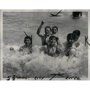 1937 Press Photo Bathing - RRX51503