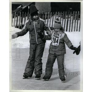 1927 Press Photo Kristine Kelly another Winter Olympics - RRX35651