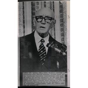 1966 Press Photo US Soccer director sir George Graham - RRW80187