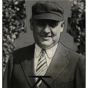 1930 Press Photo George A. Hilderbrand Baseball Umpire. - RRW82521