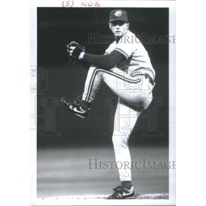 Press Photo David Brian Cone Toronto Blue Jays New York Yankees Boston Red Sox