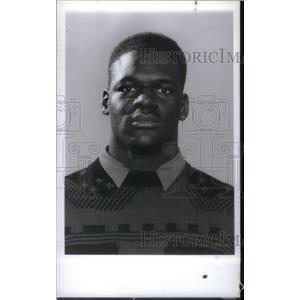 1991 Press Photo Mumford Athlete Kendrick Cameron - RRX40519