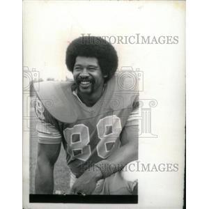 1975 Press Photo Charlie Sanders Detroit Lions Player - RRX38939