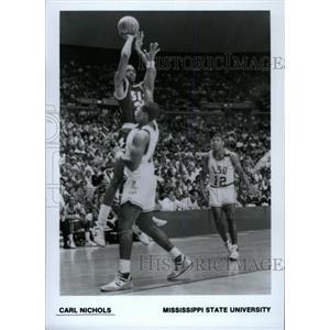 1988 Press Photo Carl Edward Nichols Baltimore Orioles - RRW80323