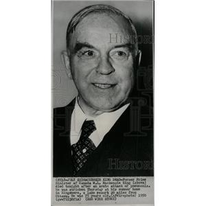 1950 Press Photo Former Prime Minister of Canada, W. L. - RRW78581