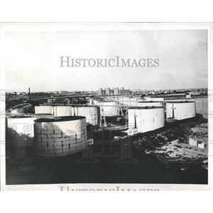1941 Press Photo Constanta German Rumanian Naval Base - RRX81009