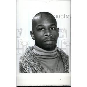 1990 Press Photo Redford High Dujuan Watkins - RRX39607