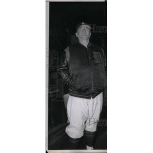 1947 Press Photo Steve O'Neill May 27 1947 Cleveland - RRX39281