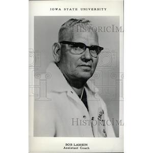 1968 Press Photo Bob Lamson Assistant coach IOWA State - RRW80483
