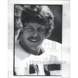 1976 Press Photo JEFF SEVY FOOTBALL PLAYER - RSC31865