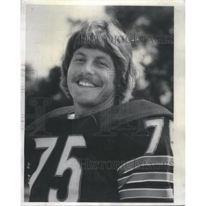 1975 Press Photo JEFF SEVY LINEMAN NFL FOOTBALL - RSC31861