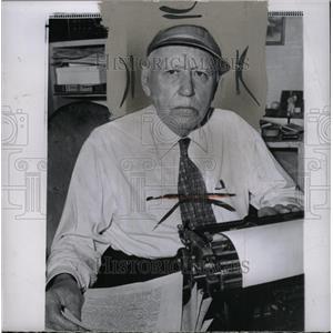 1959 Press Photo Mack Sennett Innovator Slapstick Film