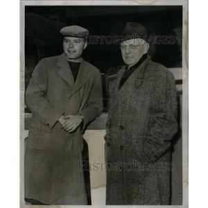 1956 Press Photo William Hanrahan Television Announcer - RRX35101