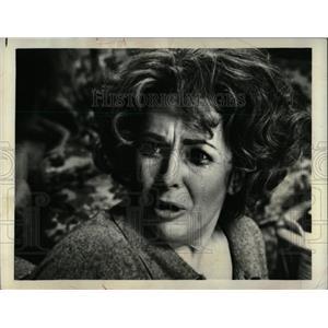 1973 Press Photo Elizabeth Taylor Hollywood Actress. - RRW92589