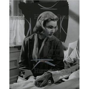 1958 Press Photo May Britt Swedish film stage artist - RRW75313