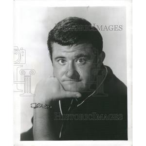 1961 Press Photo Buddy Hackett American comedian Actor - RRX73155