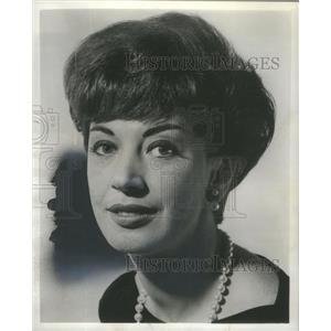 1966 Press Photo Joan Marshall American Actress