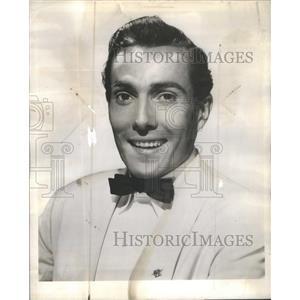 1958 Press Photo Hurd Hatfield Gant Gaither On Approval Freddy Lonsdale Comedy
