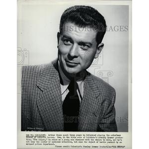 1952 Press Photo The Sniper's Actor Arthur Franz - RRW13807
