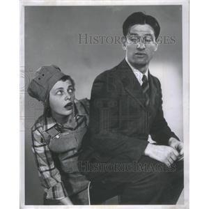 1952 Press Photo Pat Carroll/Actress/Emmy Award/David LeGrant/Broadway