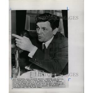 1951 Press Photo John Garfield Tough Guy Actor - RRW25001