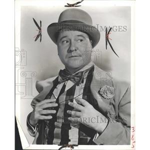 1957 Press Photo Jack Oakie (Actor) - RRW36399