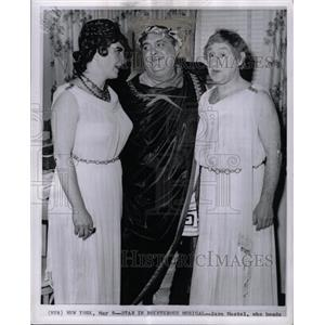 1962 Press Photo Zero Mostel American Stage Actor - RRX64549