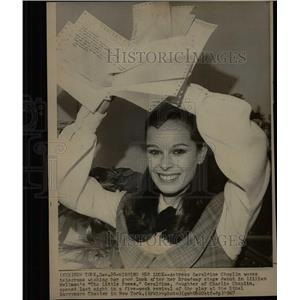 1967 Press Photo Actress Geraldine Chaplin Little Foxes - RRX64169
