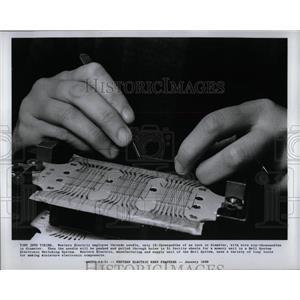 1968 Press Photo Western Electric Bell Miniature Memory - RRW90449