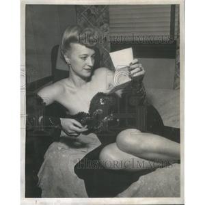1947 Press Photo Sharon Lynn was an American Actress- RSA98347