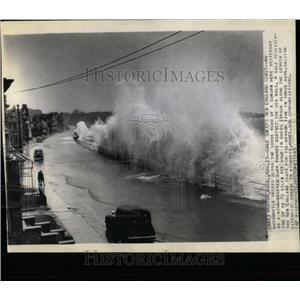 1945 Press Photo New England Storm - RRX62643