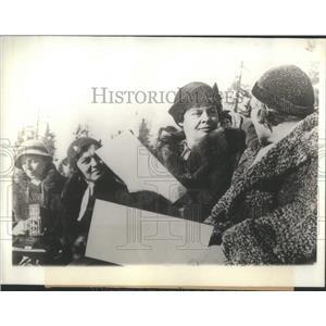1933 Press Photo German Crown Princess Cacilie - RSC33235