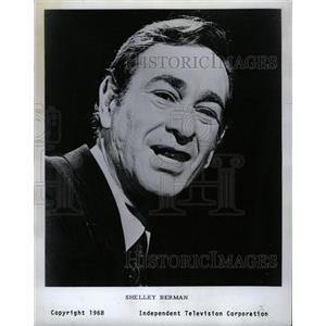 1968 Press Photo Actor Comedian Shelley Berman - RRW20287