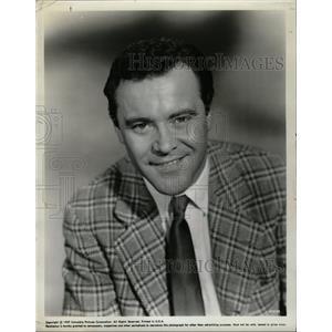 1961 Press Photo Jack Lemmon American artist musician - RRW14039