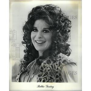 1973 Press Photo Singer Bobbie Gentry - RRX34003