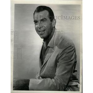 1964 Press Photo Fred MacMurray American actor - RRW14533