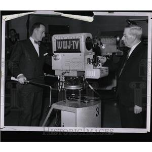 1947 Press Photo Scripps First Television Program - RRY64657
