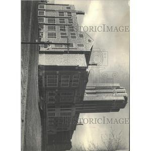1933 Press Photo Denver University Library - RRX94465