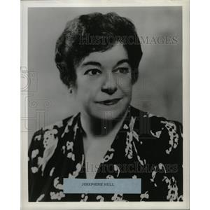 1958 Press Photo Josephine Hull Harvey Oscar stage role - RRW14389