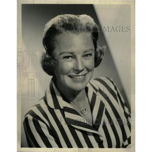 1959 Press Photo Edge of Fury Actress June Allyson - RRW09183