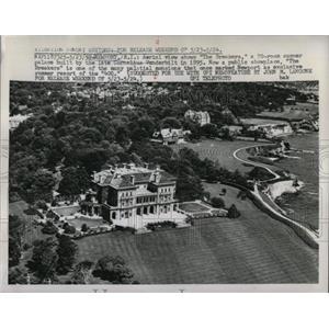 1959 Press Photo Breakers Palace Newport Rhode Island