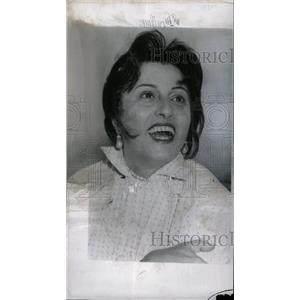 1956 Press Photo Italian Film Actress Anna Magnani - RRW71305